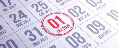 Ce qui change au 1er janvier