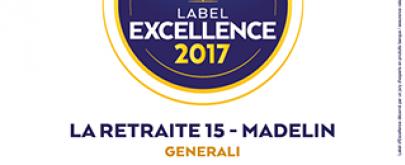 Generali reçoit 3 Labels d'Excellence 2017