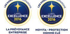 labels excellence prévoyance et homme clé