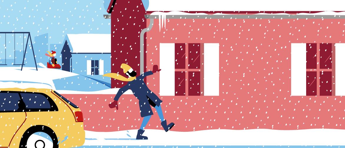 Chutes de neige, quelles précautions ?
