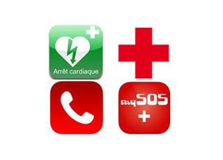 Urgences : des applications pour bien réagir