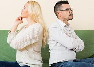 Le divorce fait baisser le niveau de vie