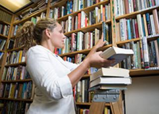 label librairie